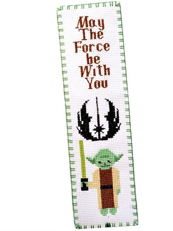 Master Yoda: Star Wars cross stitch kit of bookmark