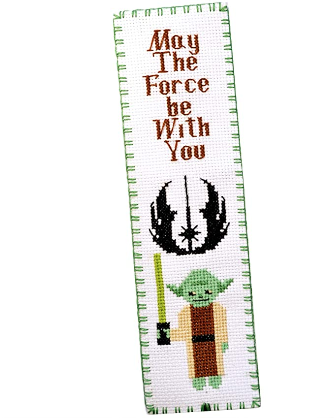 Master Yoda: Star Wars cross stitch kit of bookmark